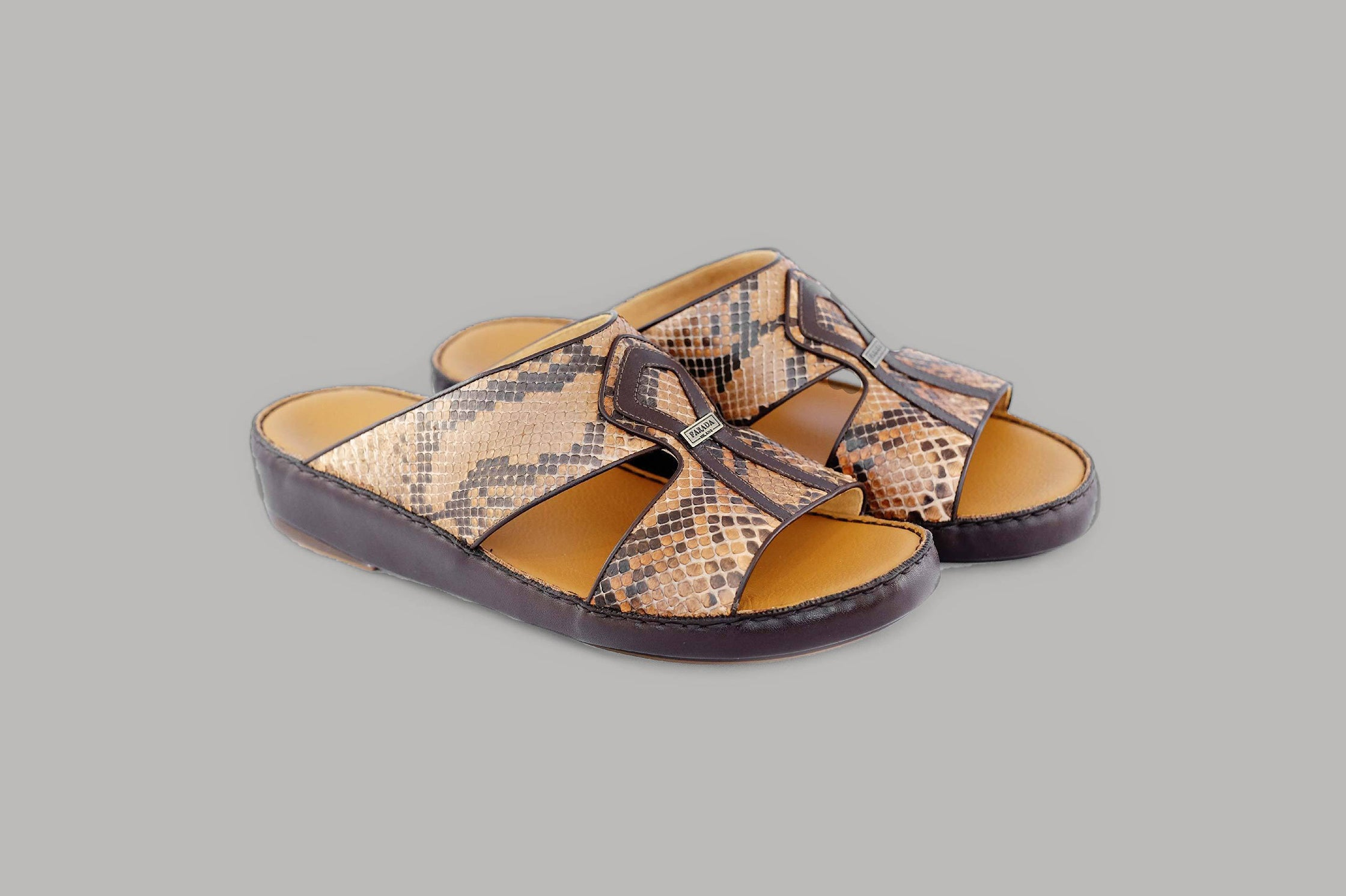Alberto Pitone Tabac Aabic Sandals (3987PY)