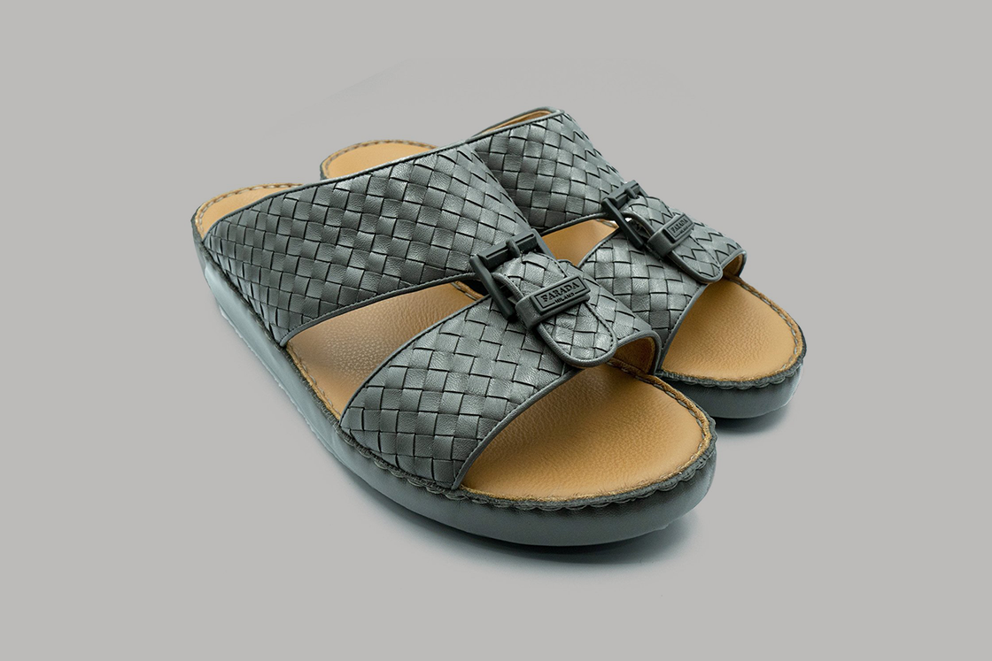 Marco Calf Weaving Grey (3992WE)