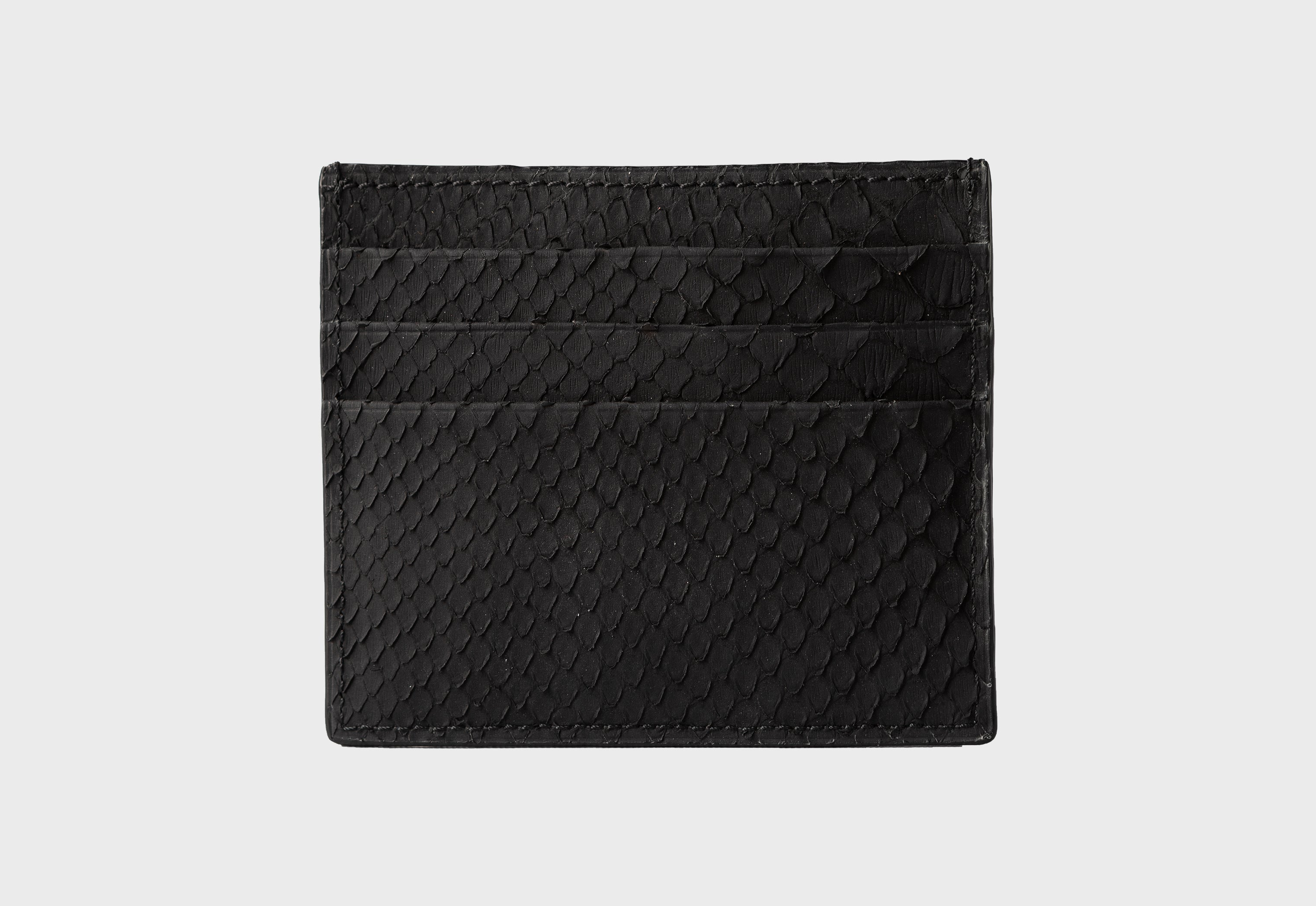 Black Python Card Holder (1944PY)
