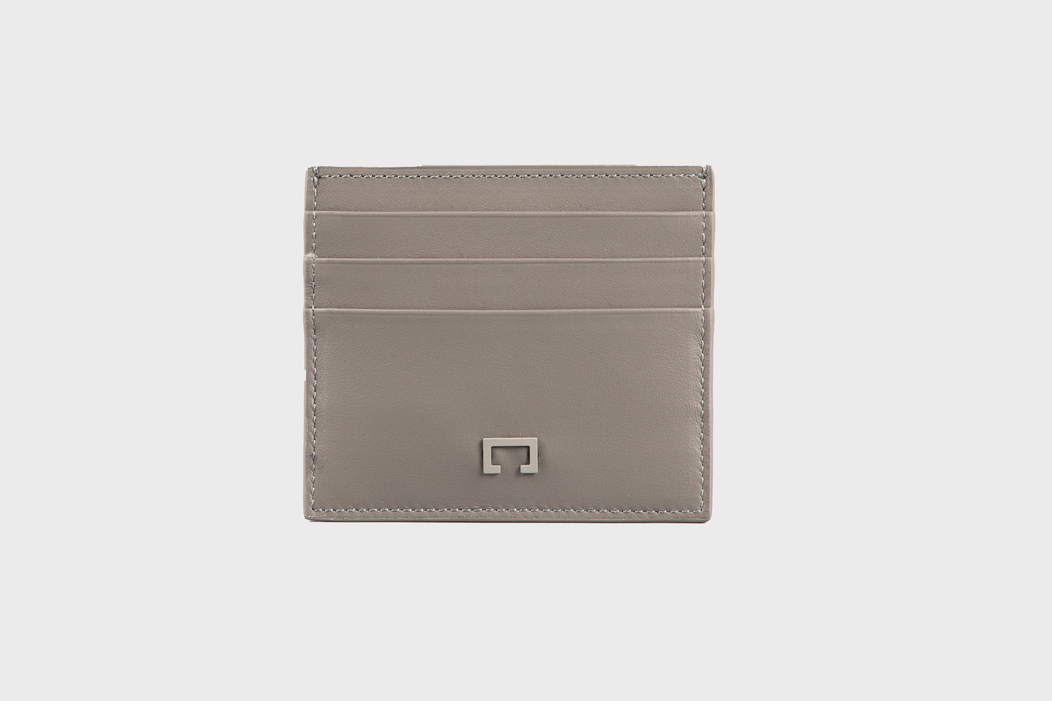 Dark Grey Calf Matte Card Holder (1944K)