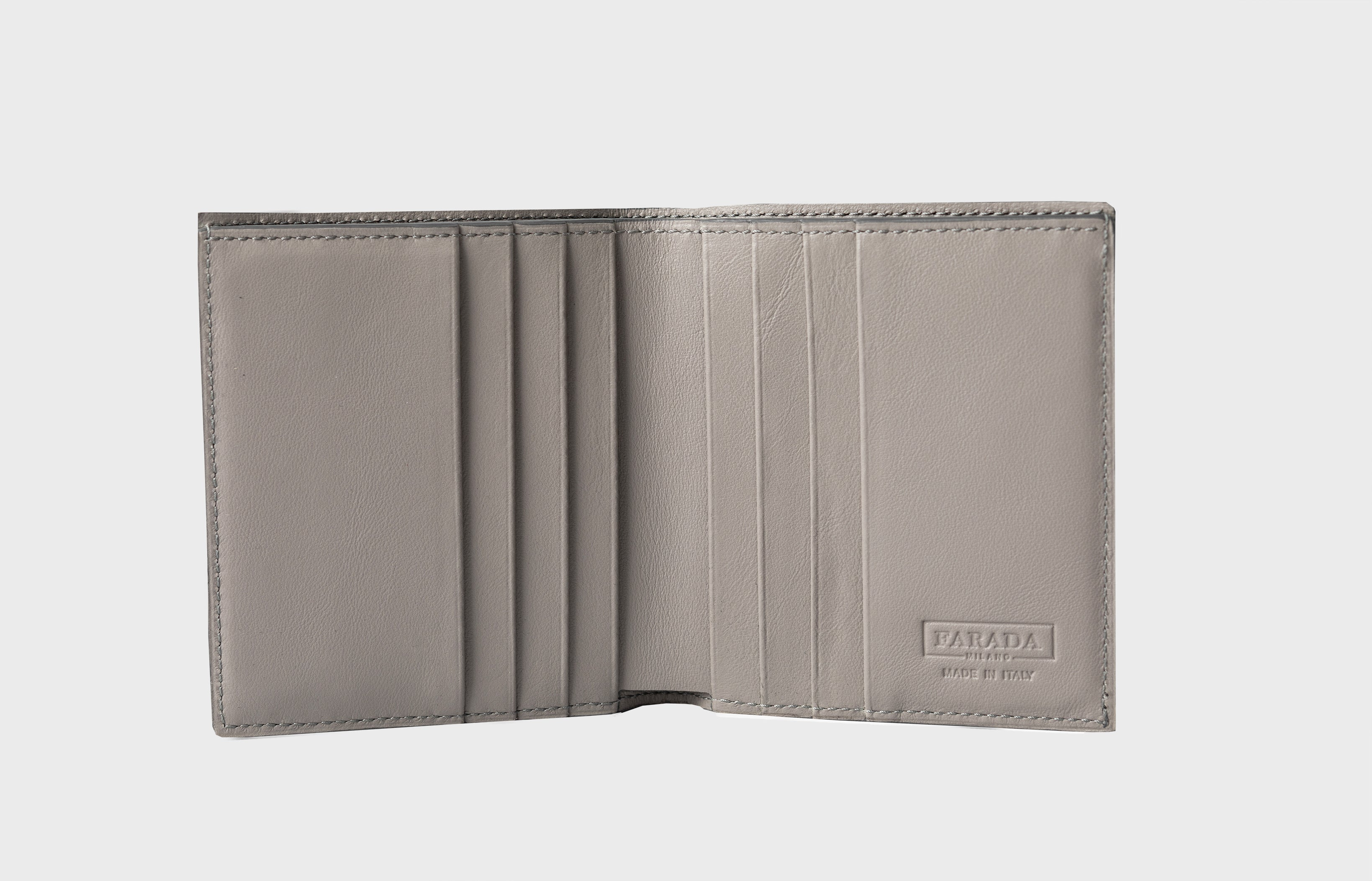 Light Grey Ostrich Wallet (510OS)