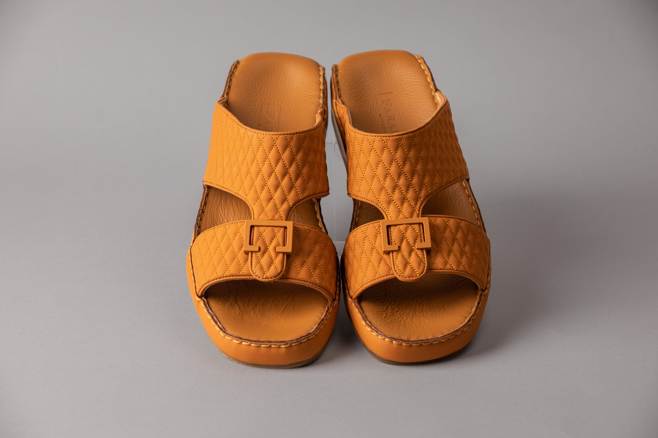 Nicolo Matte Tan Diamond Arabic Sandal (5051)