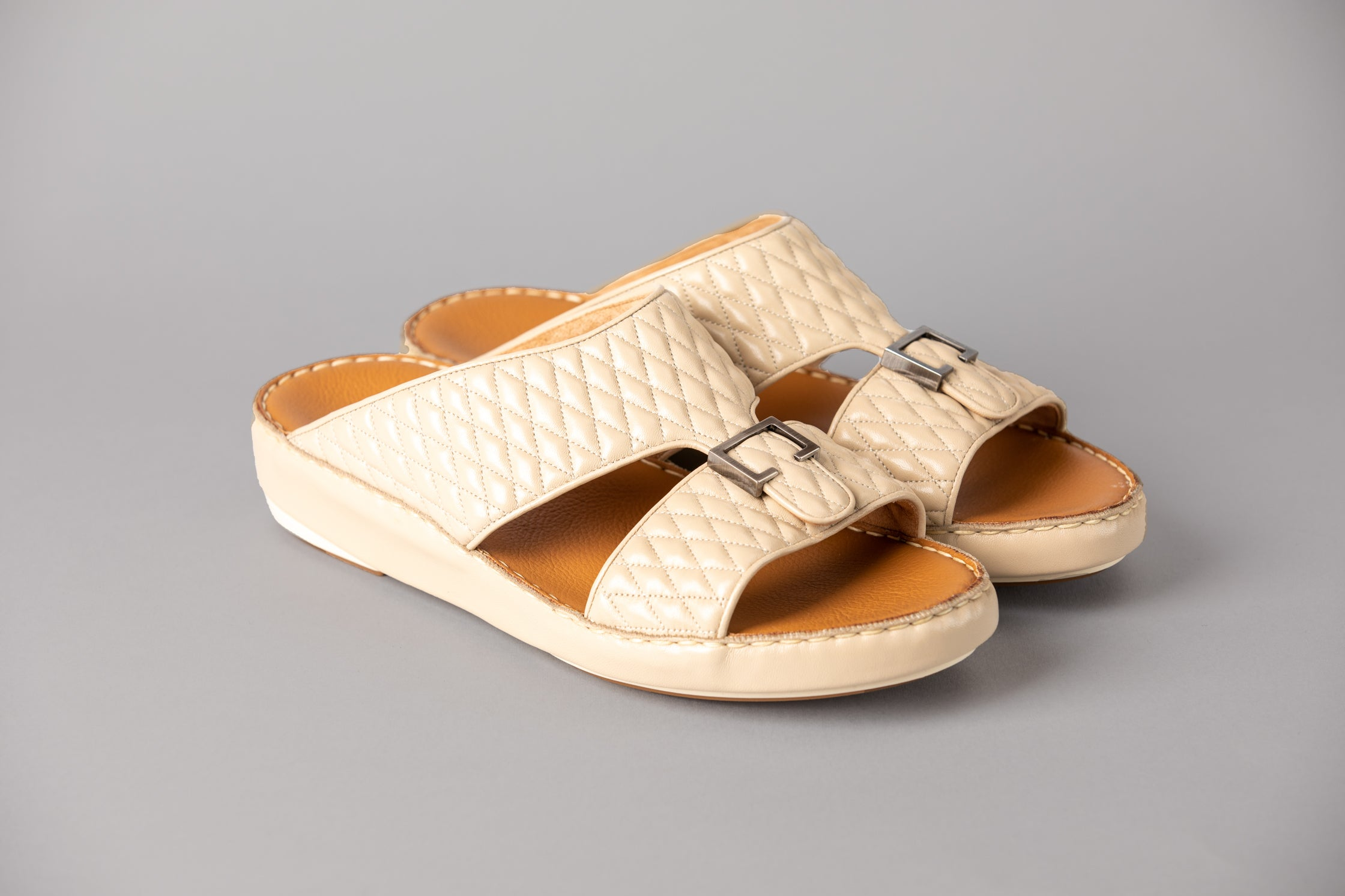 Aldo Diamond Cream Arabic Sandal (4061PDC)