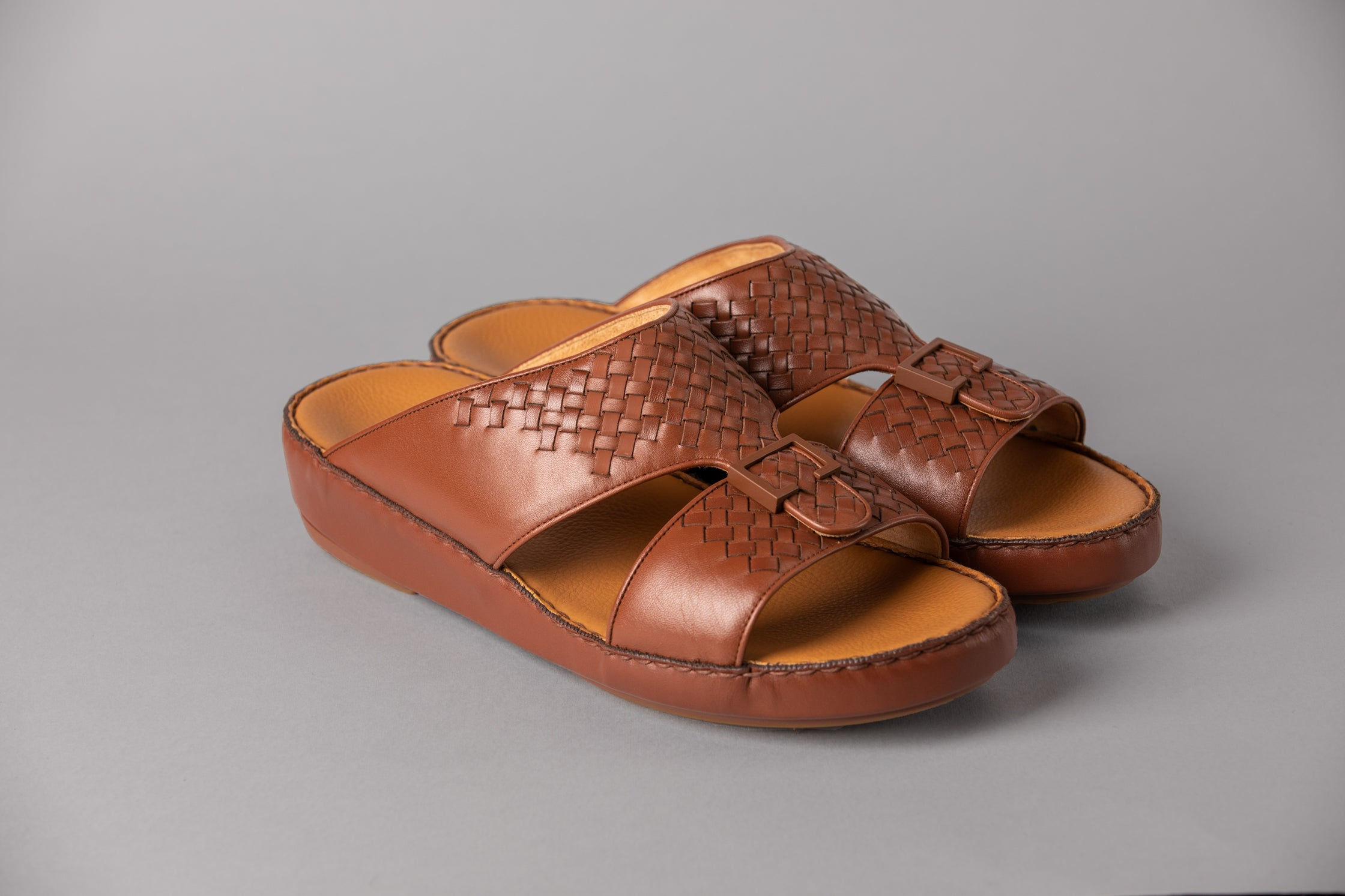 Aldino Woody Half-Weave Arabic Sandal (4046WE)