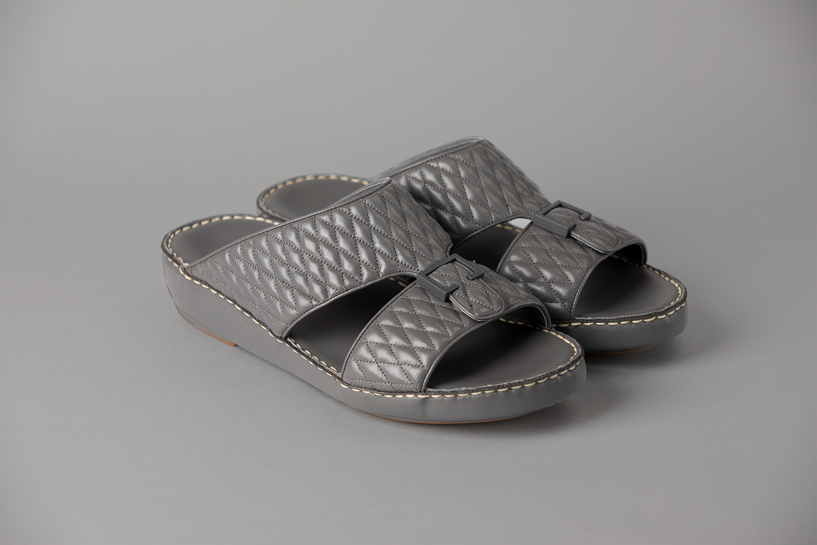 Aldo Diamond Dark Grey Arabic Sandal (4061DA)