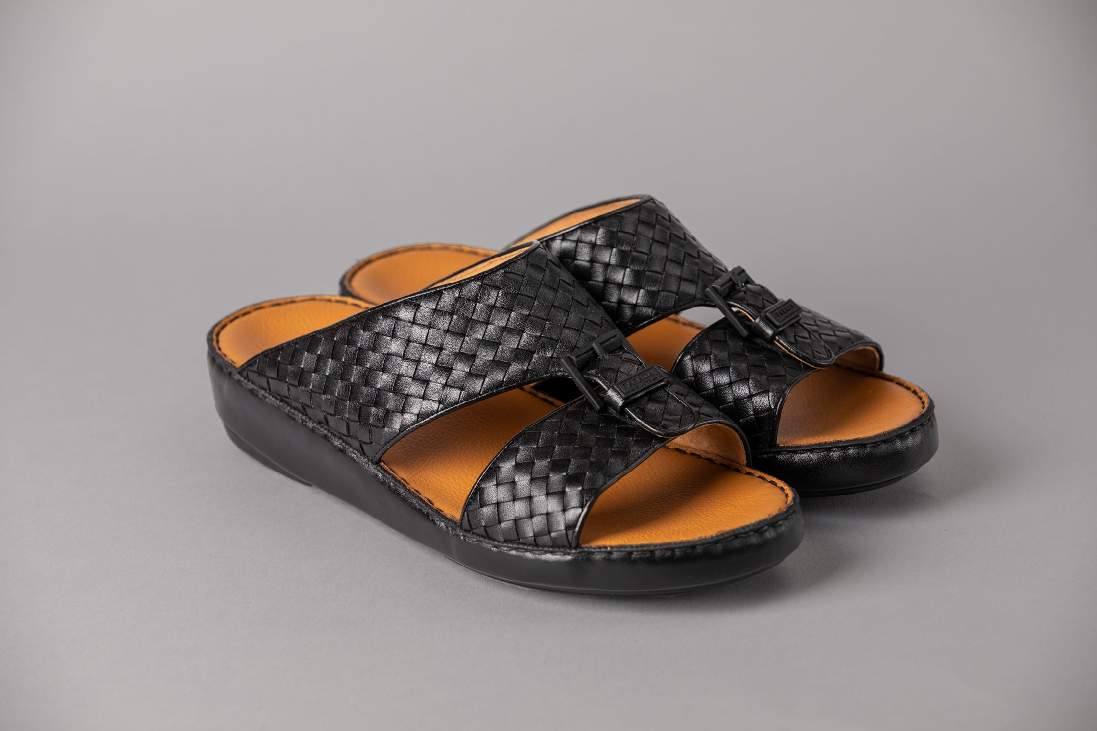 Marco Calf Weaving Black (3992WE)