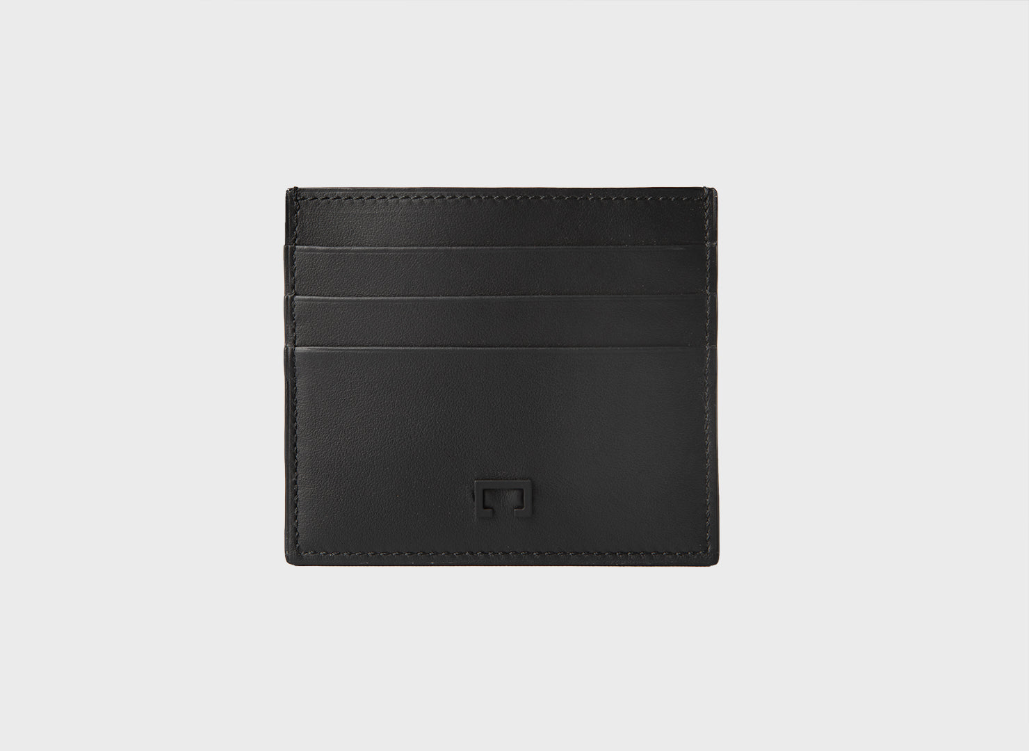 Black Calf Card Holder (1944K)