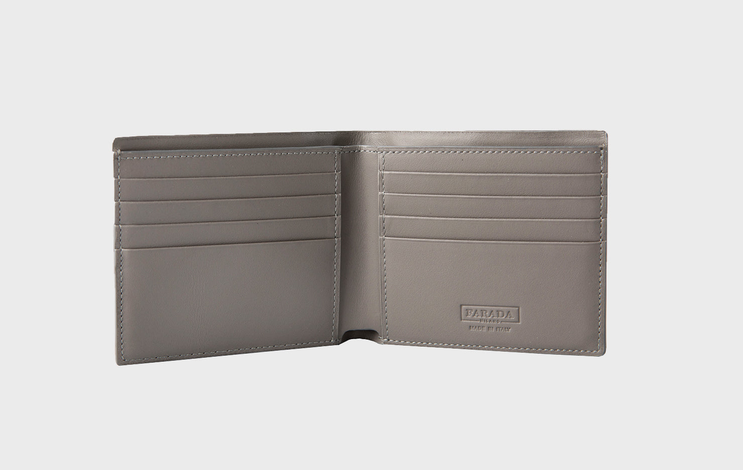 Dark Grey Calf Matte Wallet (2006K)