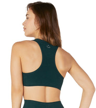 Load image into Gallery viewer, Beyond Yoga Spacedye Lift Your Spirits Bra in Hunter Green