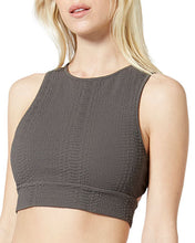 Load image into Gallery viewer, Vimmia Griffith Strappy Bra in Eiffel Grey