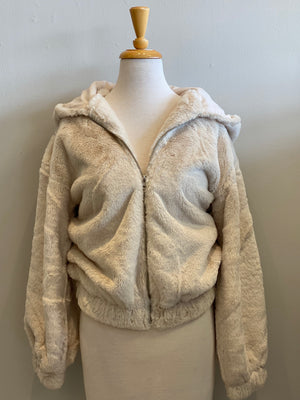 Elan Teddy Bear Zip Up - Showroom56