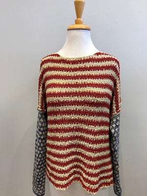 By Together Americana Sweater - Showroom56