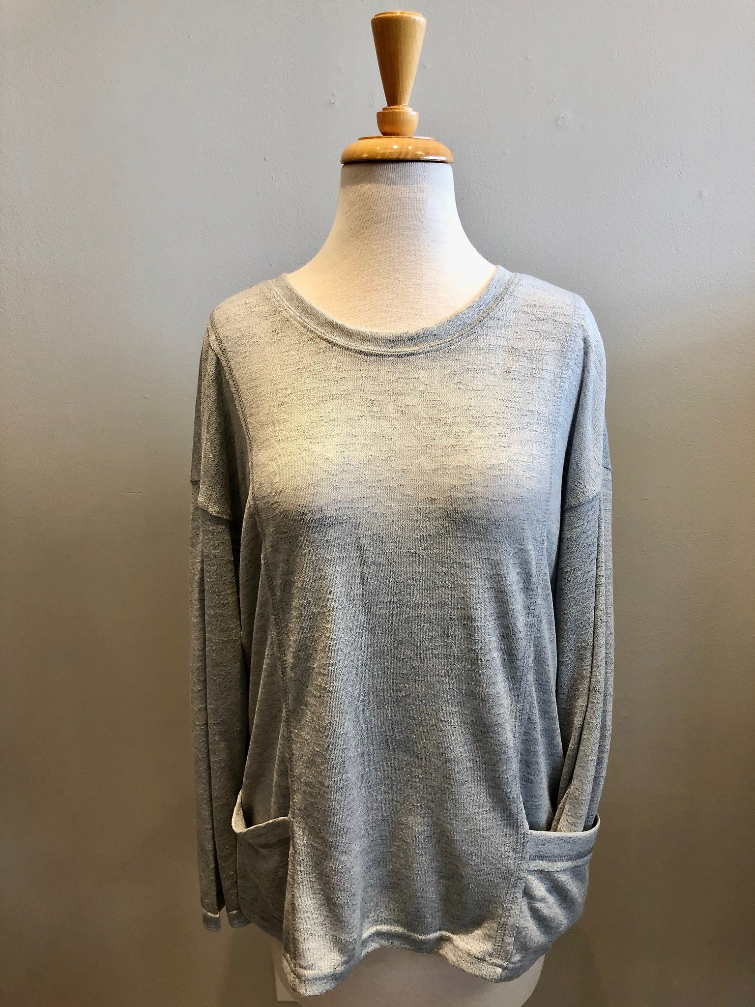 Loveriche Sheer Slouch top - Showroom56