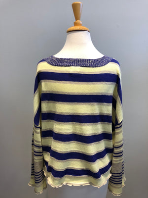 By Together Boat Neck Oversized Sweater - Showroom56