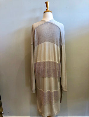 Mystree Open Front Long Cardigan - Showroom56