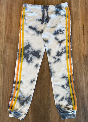 Vintage Havana Burnout Fleece Tie-Dye Jogger - Showroom56