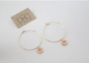 Cecelia Sunburst Hoop Earrings - Showroom56