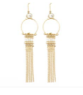 Splendid Iris E1132-GWH Earrings - Showroom56