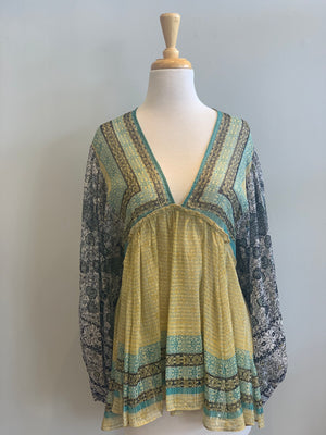 Free People Alyiah Printed Tunic - Showroom56