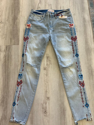 Driftwood Aztec Denim - Showroom56