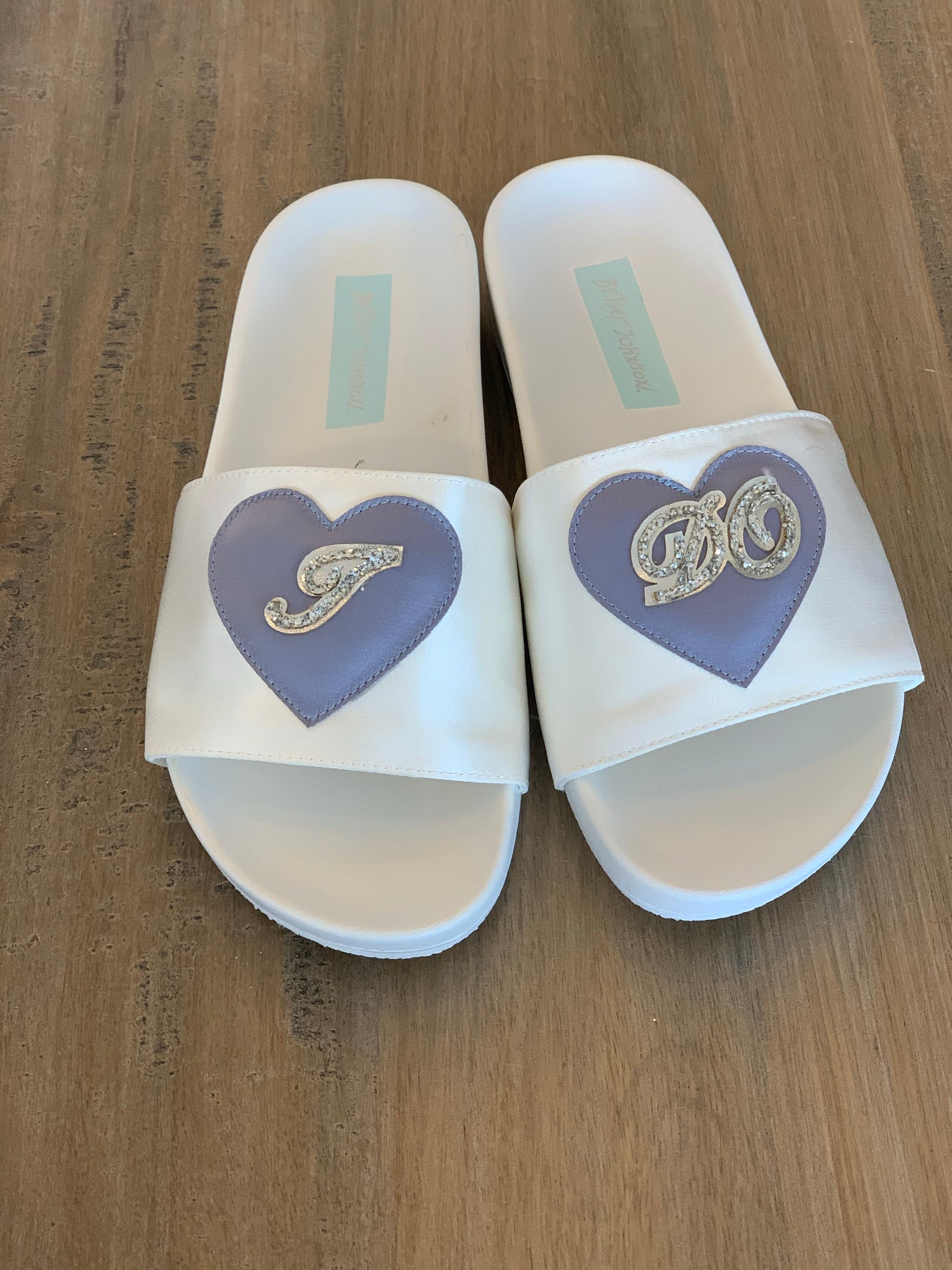 "Betsy Johnson Wedding ""I Do"" Slides - Showroom56"