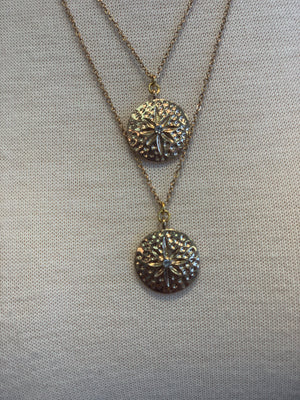 Unknown Sand Dollar Layered Necklace - Showroom56