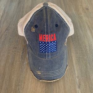 The Original Retro Brand 'Merica Vintage Wash Snapback - Showroom56