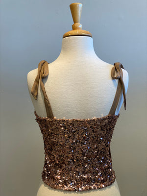 Free People Hey Girl Sequin Cami - Showroom56