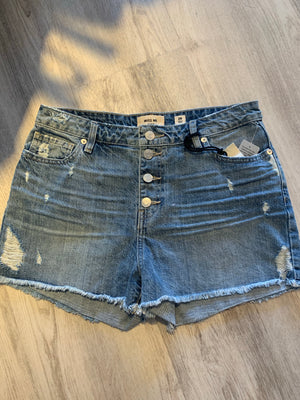 Miss Me Clean Cutoff Shorts - Showroom56