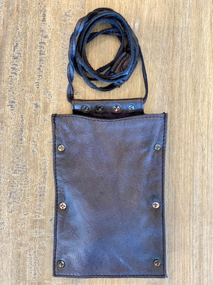 Free People Downtown Leather Lanyard - Showroom56