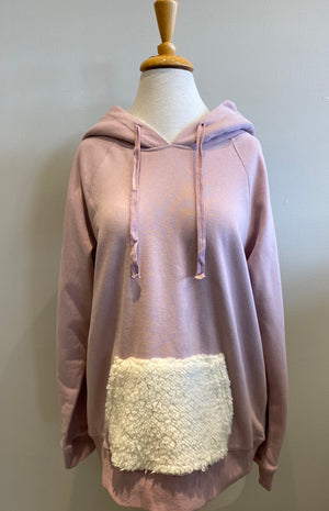 Hem & Thread Blushing Hoodie - Showroom56