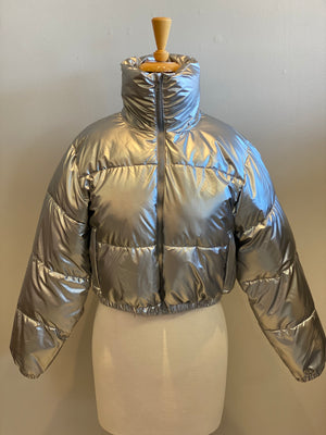 Shaci Silver Puffer - Showroom56