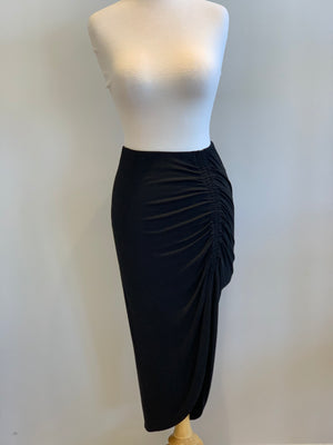 BB Dakota How Ruched Midi Skirt - Showroom56