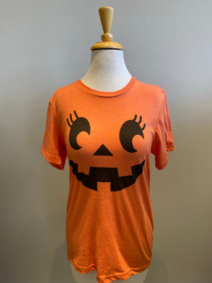 Bella + Canvas Pumpkin Halloween T-shirt - Showroom56