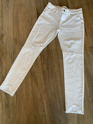Elan White Water Jeans - Showroom56
