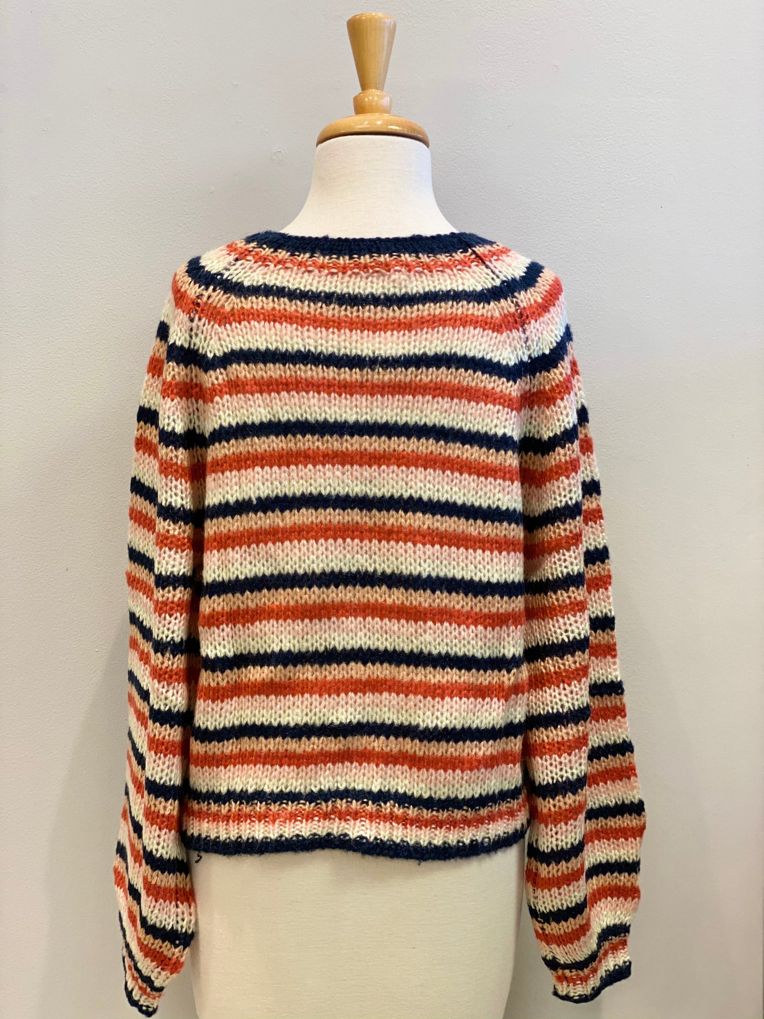 Louise Stripe Sweater