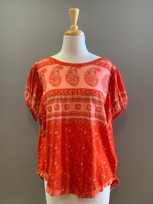 Free People Paisley Tee - Showroom56