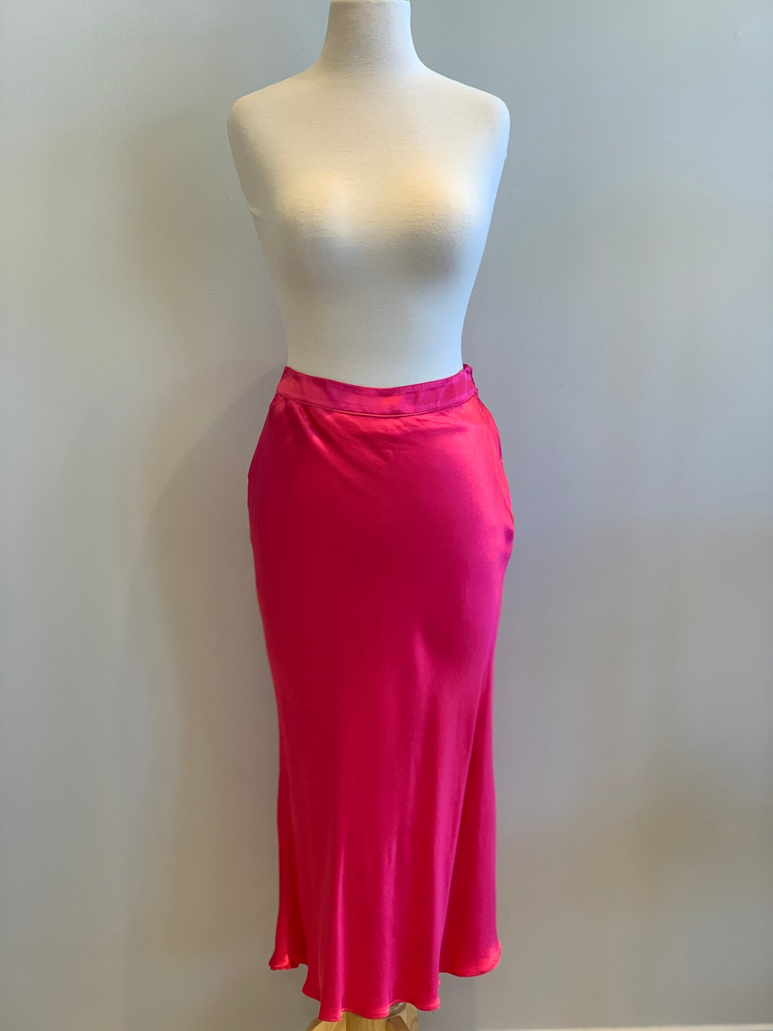 English Factory Satin Midi skirt - Showroom56