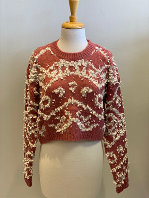 Shaggy Knit Sweater
