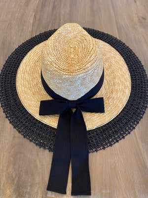 Straw Knitted Sun Hat