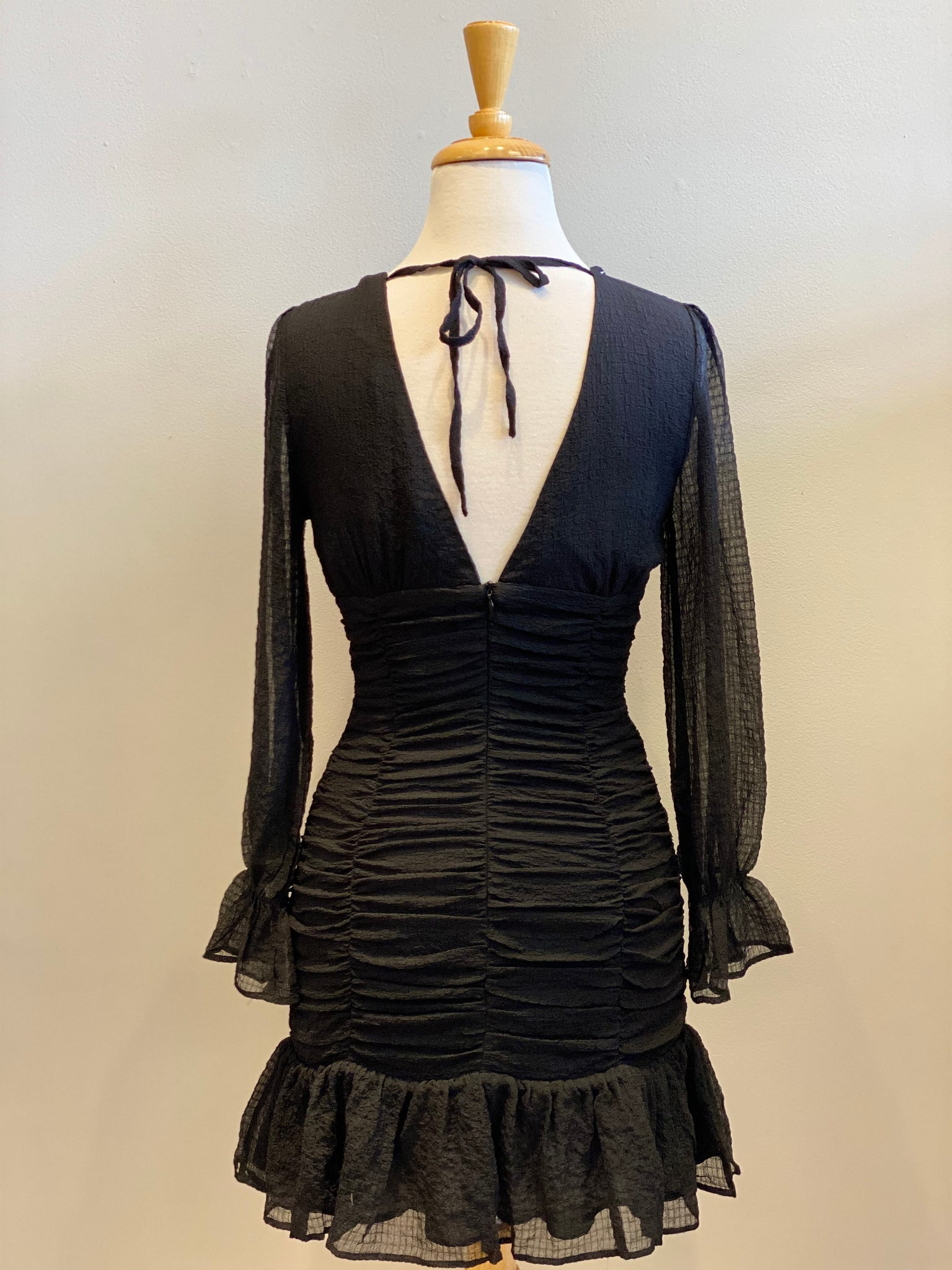 Storia Ruched Mini Dress - Showroom56