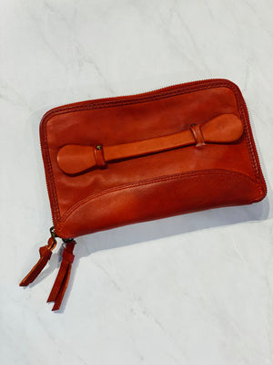 Free People Travel Leather Wallet - Showroom56