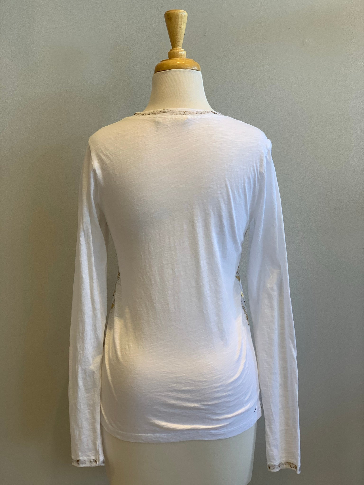 Elan Gold Dusted Long Sleeve - Showroom56