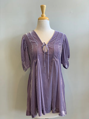Free People Adelle Velvet Tunic - Showroom56