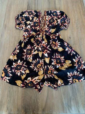 Free People On The Edge Romper - Showroom56