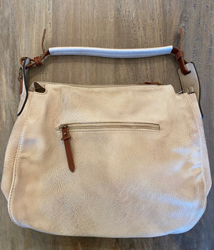 Whipstitch Hobo Bag
