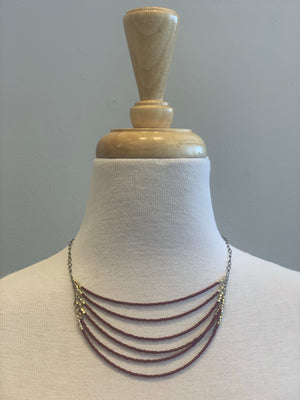 Unknown Boho Beaded Necklace - Showroom56