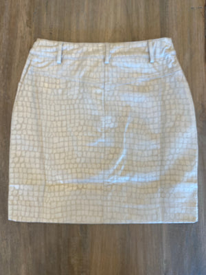 Blu Pepper Woven Snake Print Mini Skirt - Showroom56