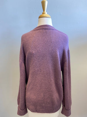 Elan Double V Sweater - Showroom56