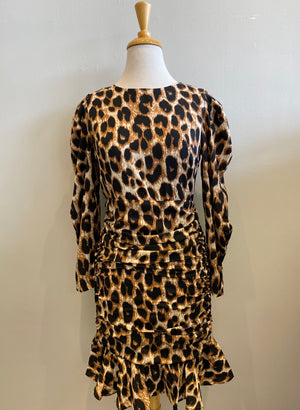 Garcia Leopard Dress - Showroom56